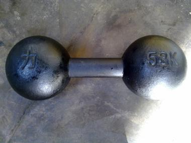 dumbbell circus grip inch dumbbell
